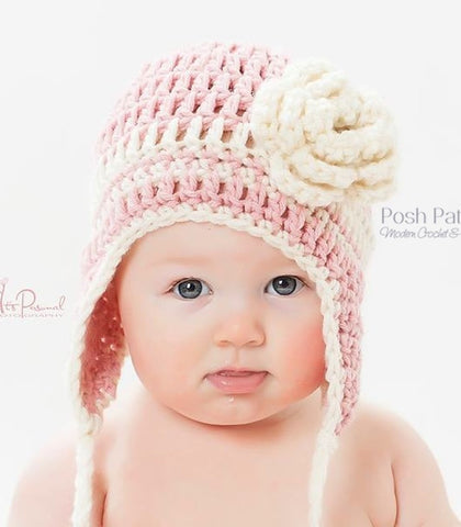 easy crochet earflap hat pattern