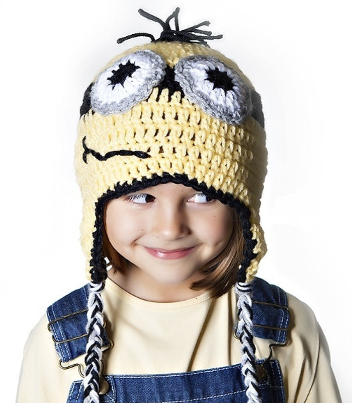 Minion Inspired Crochet Hat Pattern