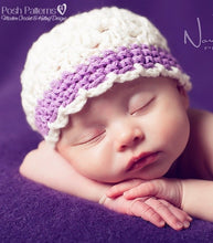 Load image into Gallery viewer, crochet baby hat pattern