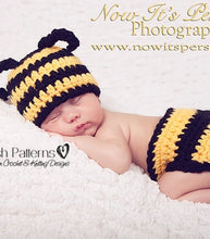 Load image into Gallery viewer, crochet pattern bumble bee