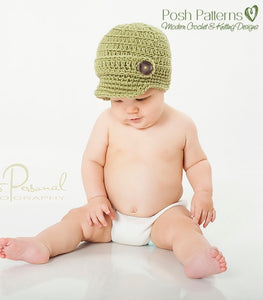 crochet hat pattern