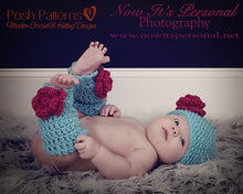 Load image into Gallery viewer, baby leg warmers crochet pattern