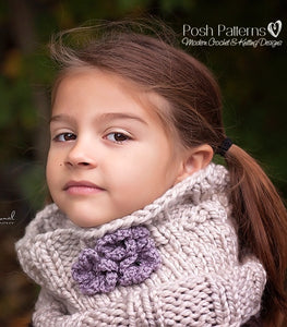 luxurious knit cowl pattern