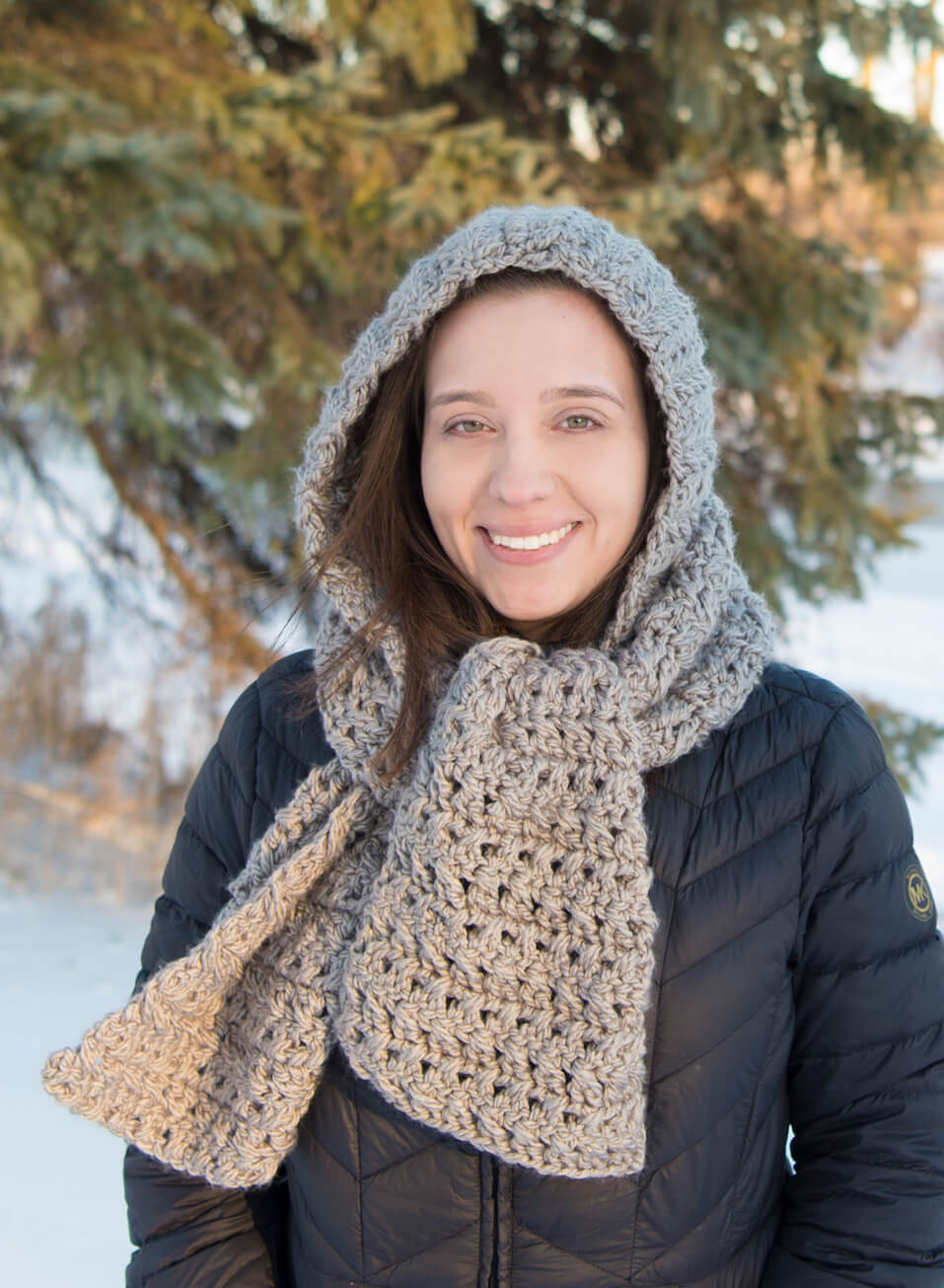Crocheted Hoods Cowls 20 Enchanting Designs For Women 7 Adorable