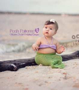 crochet pattern mermaid tail
