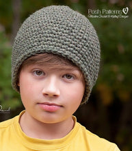 Load image into Gallery viewer, crochet beanie pattern