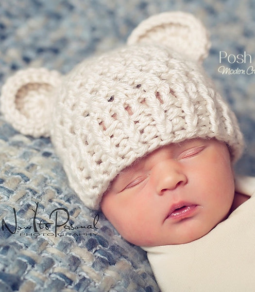 crochet bear hat pattern