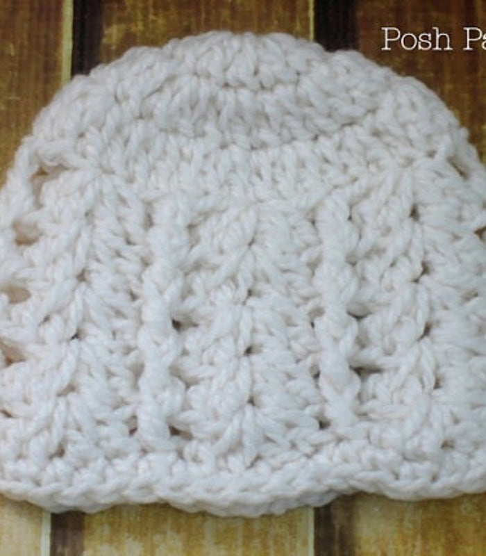Crochet Pattern Elegant Crochet Hat Pattern