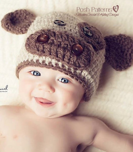 crochet cow hat pattern