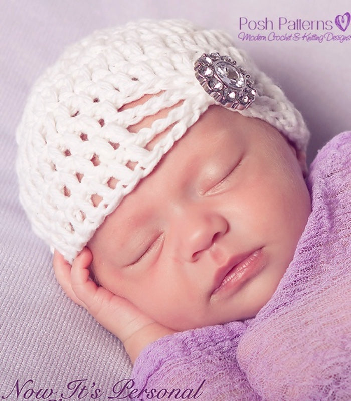 crochet pattern for baby hat