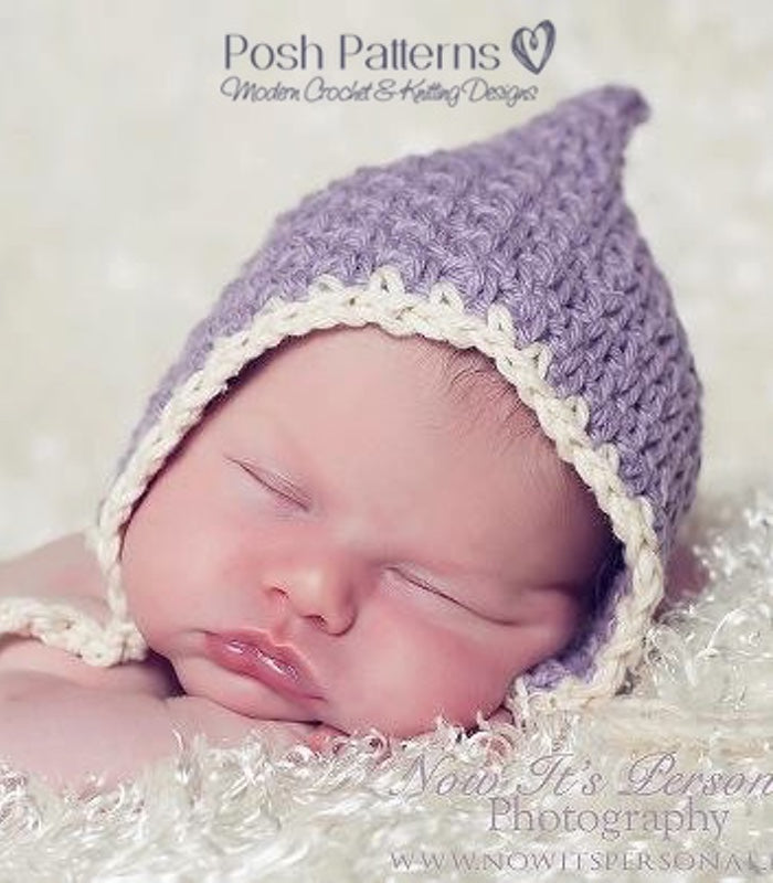 crochet pattern pixie hat