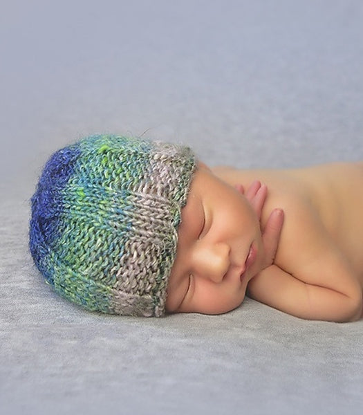 knitting pattern ribbed beanie hat