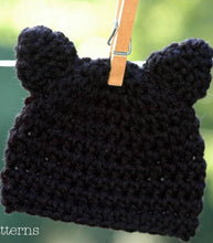 Load image into Gallery viewer, crochet pattern kitty cat hat