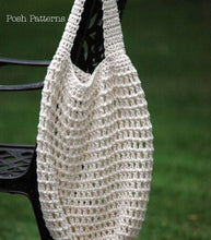 Load image into Gallery viewer, crochet shopping bag pattern