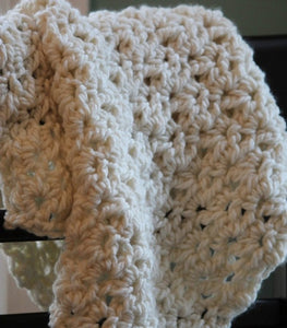 Chunky Baby Blanket Crochet Pattern Shell Stitch Crochet Pattern