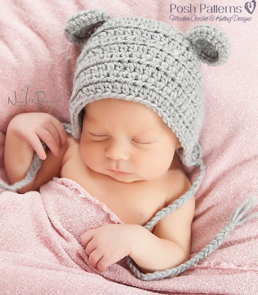 crochet mouse hat pattern