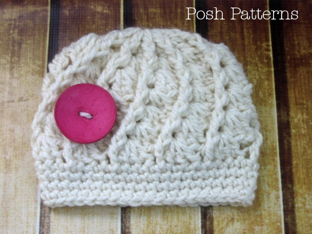 spiral shell crochet hat pattern