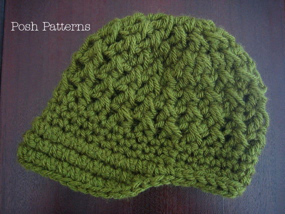 baby crochet hat pattern