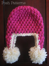 Load image into Gallery viewer, puff stitch hat pattern