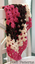 Load image into Gallery viewer, crochet baby blanket pattern