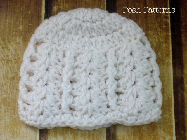 crochet lace hat pattern