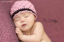 Load image into Gallery viewer, baby girl hat pattern