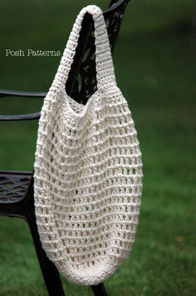 crochet market bag pattern