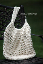 Load image into Gallery viewer, reusable bag crochet pattern