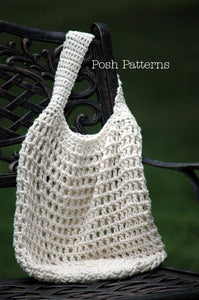 reusable bag crochet pattern