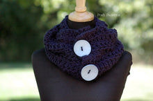 Load image into Gallery viewer, crochet pattern infinity scarf