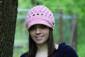 womens crochet hat pattern