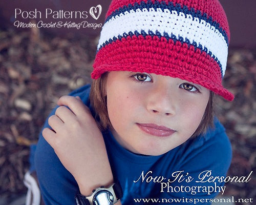 newsboy beanie crochet pattern
