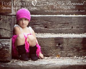 girls newsboy hat pattern