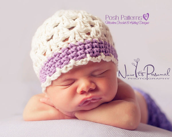 girls hat crochet pattern