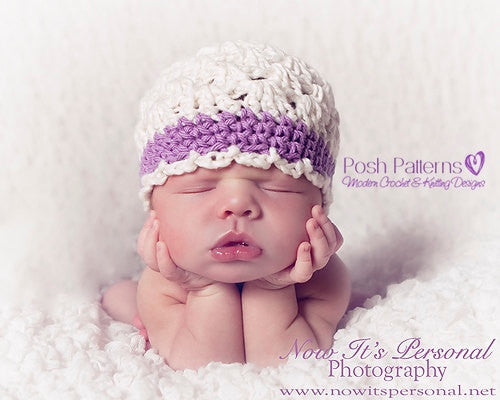 shell stitch hat crochet pattern