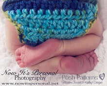 Load image into Gallery viewer, diaper cover crochet pattern