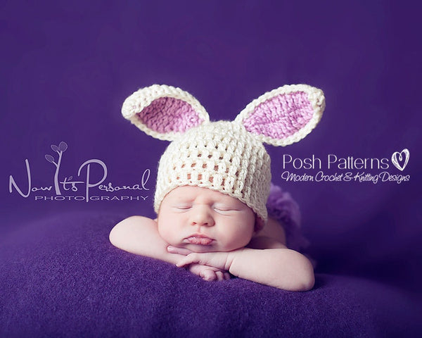 bunny hat crochet pattern