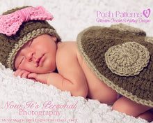 Load image into Gallery viewer, baby turtle photo prop pattern