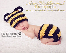 Load image into Gallery viewer, baby bumble bee crochet pattern
