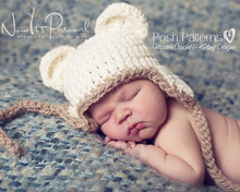 Load image into Gallery viewer, baby bear hat pattern