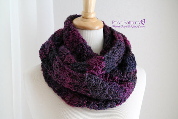 circle scarf crochet pattern