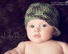 Load image into Gallery viewer, boys crochet hat pattern