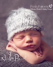 Load image into Gallery viewer, knitting pattern baby hat