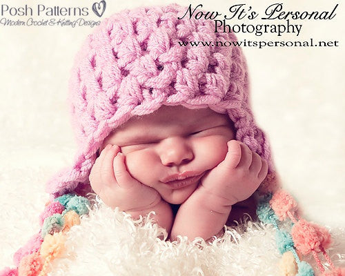 easy baby hat crochet pattern