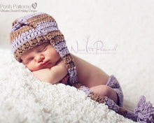 Load image into Gallery viewer, baby pixie hat crochet pattern