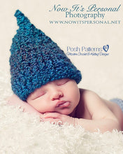 Load image into Gallery viewer, gnome hat crochet pattern