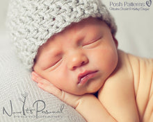 Load image into Gallery viewer, baby boy crochet hat