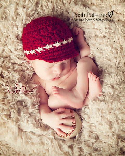 baseball hat crochet pattern