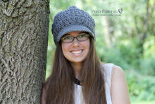 Load image into Gallery viewer, Crochet PATTERN - Crochet Visor Hat Pattern - Crochet Visor Beanie Pattern