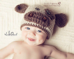baby cow hat crochet pattern